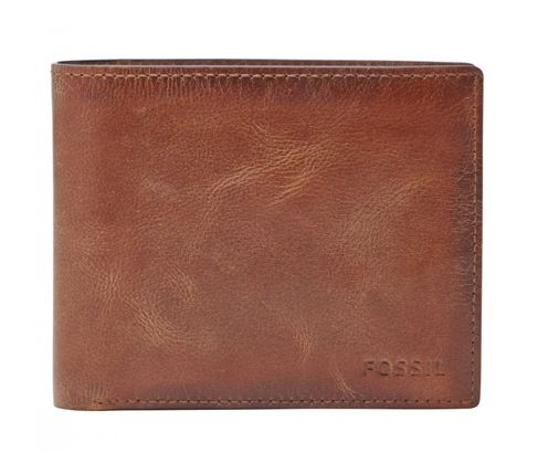 FOSSIL Derrick Large Pocket Bifold Brown