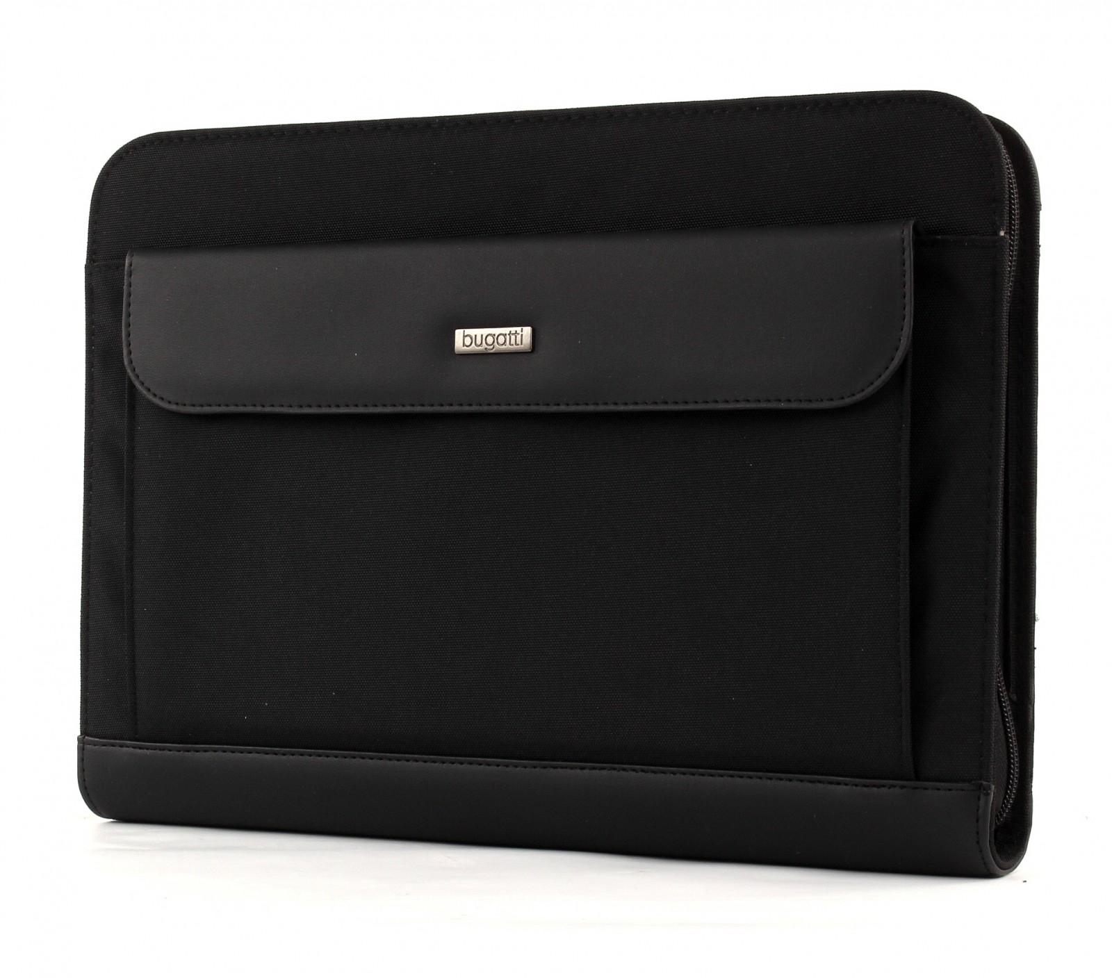 bugatti Ufficio Portfolio With Front Case Black