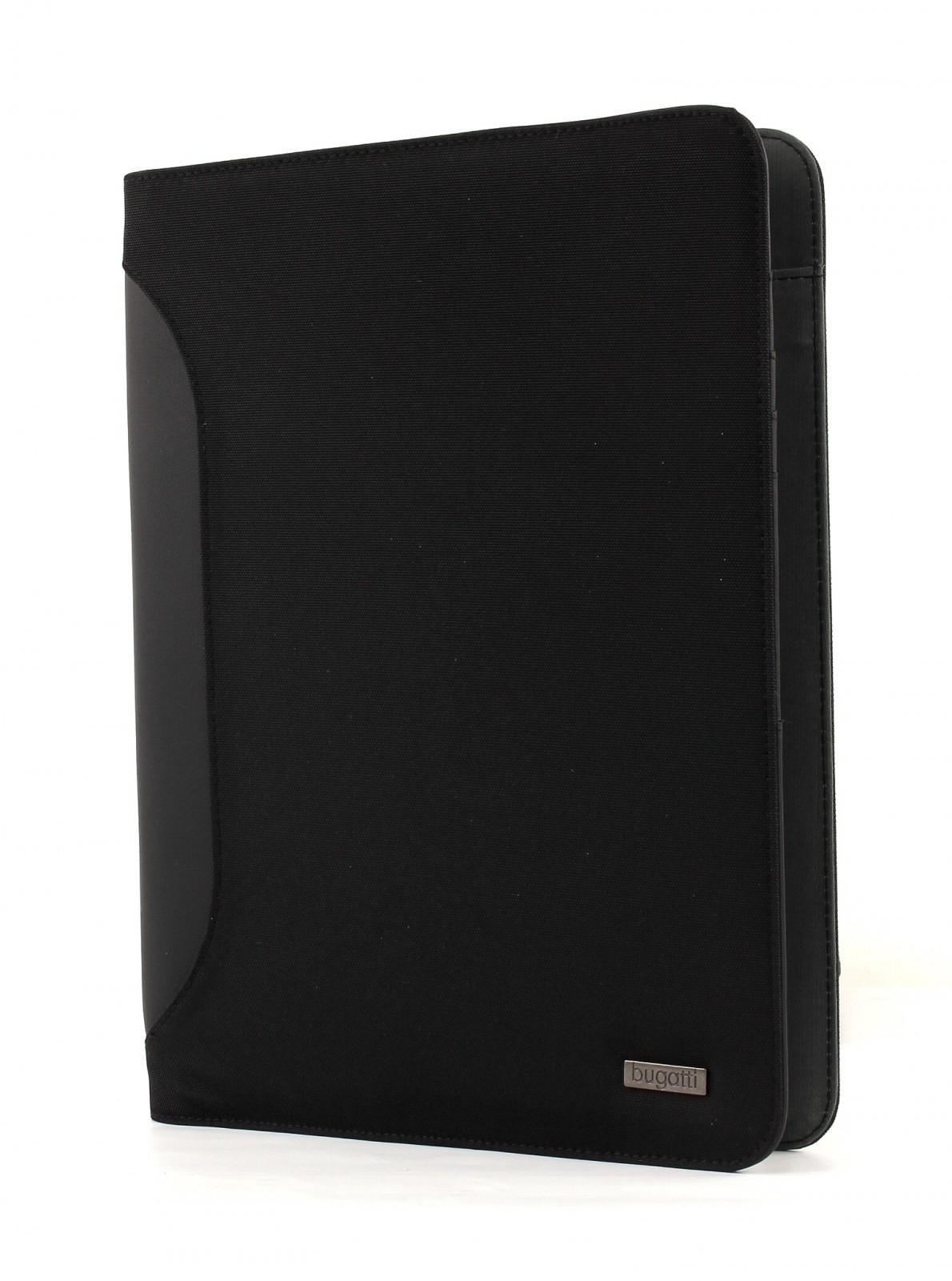 bugatti Ufficio Portfolio A4 Black
