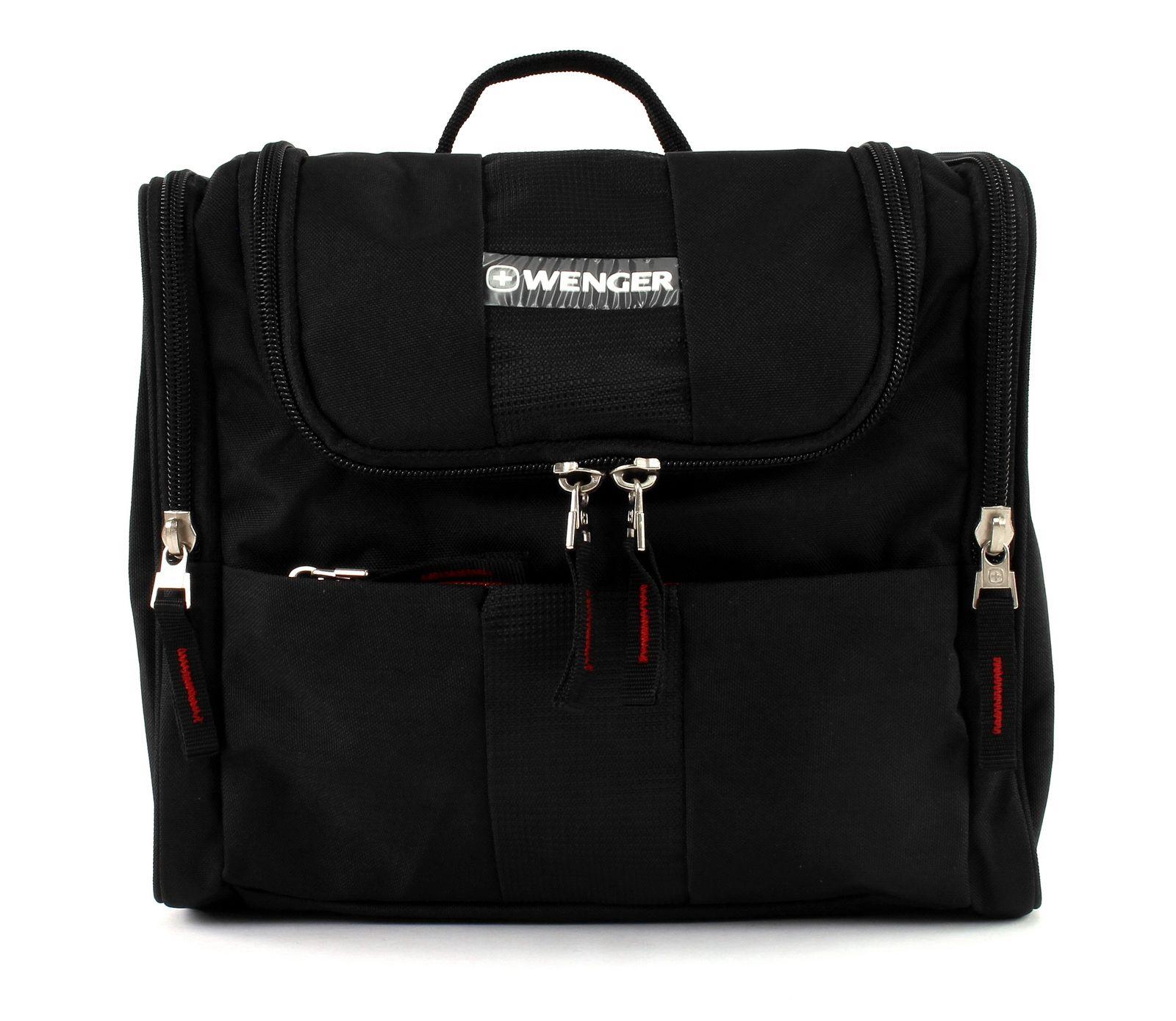 Wenger Toiletry Bags Toiletry Bag Sac de culture sac homme Noir black NEUF