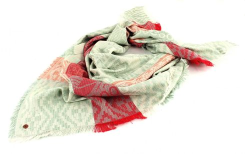 Esprit edc Summer Jaquard Scarf Light Khaki