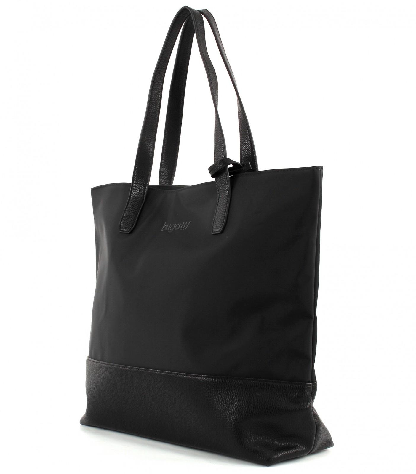 bugatti shoulder bag cosmos shopper black neu
