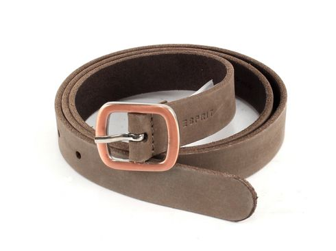 ESPRIT Buckle Belt W80 Taupe