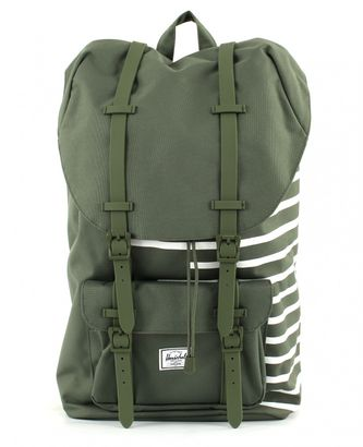 Herschel Little America Backpack Deep Lichen Green