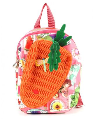 Oilily Picnic Carrot Backpack Lemonade