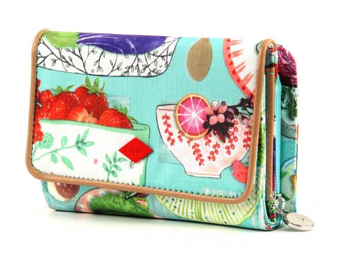 Oilily Picnic S Wallet Sky Blue
