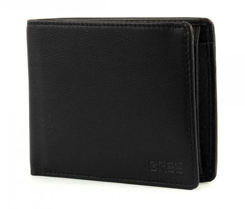 BREE Pocket 110 Slim Wallet Quer Black
