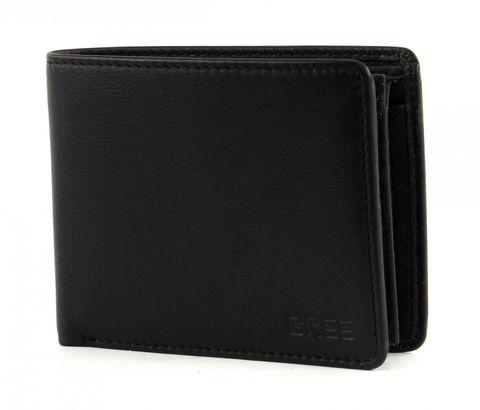 BREE Pocket 112 Classic Wallet Cross Black