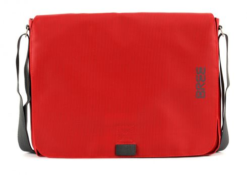 BREE Punch 49 Messenger Bag Red