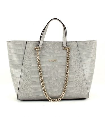 GUESS Nikki Chain Tote Cloud
