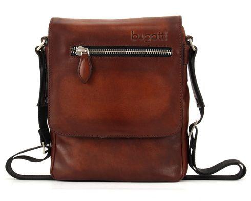 bugatti Domus Shoulder Bag S Cognac