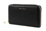 COCCINELLE Metallic Soft Zip Around Wallet Nero online kaufen bei modeherz