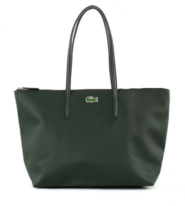 LACOSTE L.12.12 Concept L1 Large Shopping Bag With Drop Deep Forest