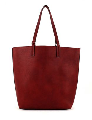 ESPRIT Felicia Reverse Shopper Dark Red