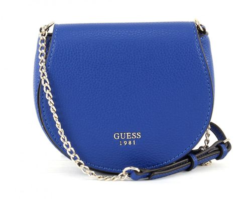 GUESS Cate Petite Saddle Bag Cobalt