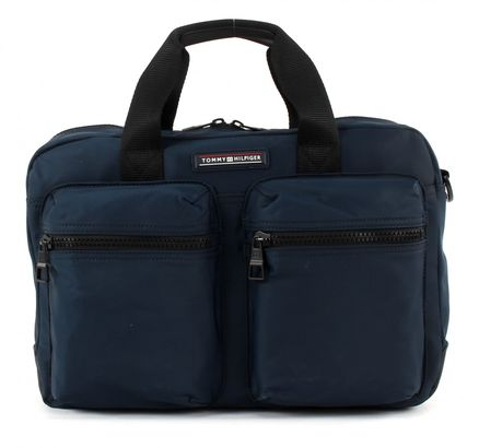TOMMY HILFIGER Easy Nylon Computer Bag Midnight