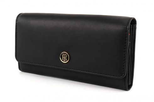 TOMMY HILFIGER TH Smooth Large EW Wallet Black