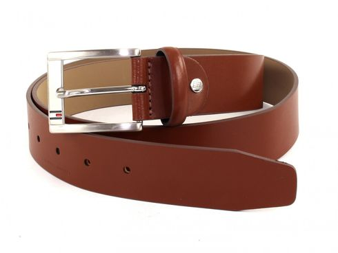 TOMMY HILFIGER Trenton Belt 3.5 ADJ W105 Dark Tan