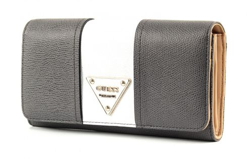 GUESS Cooper Large Flap Organizer Grey Multi