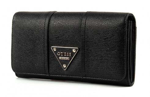GUESS Cooper Large Flap Organizer Black