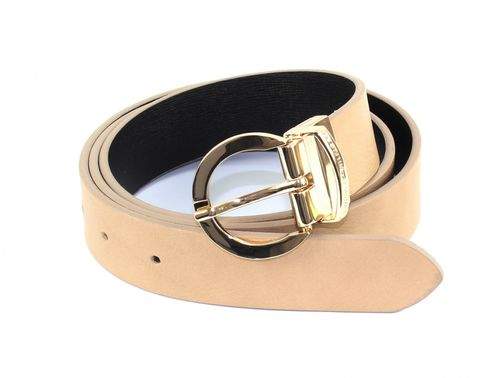 TOMMY HILFIGER Twist Belt 3.0 W80 Black / Tanin