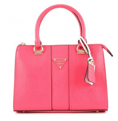 GUESS Cooper Small Satchel Passion