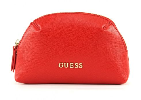 GUESS Isabeau Dome Hold All Red