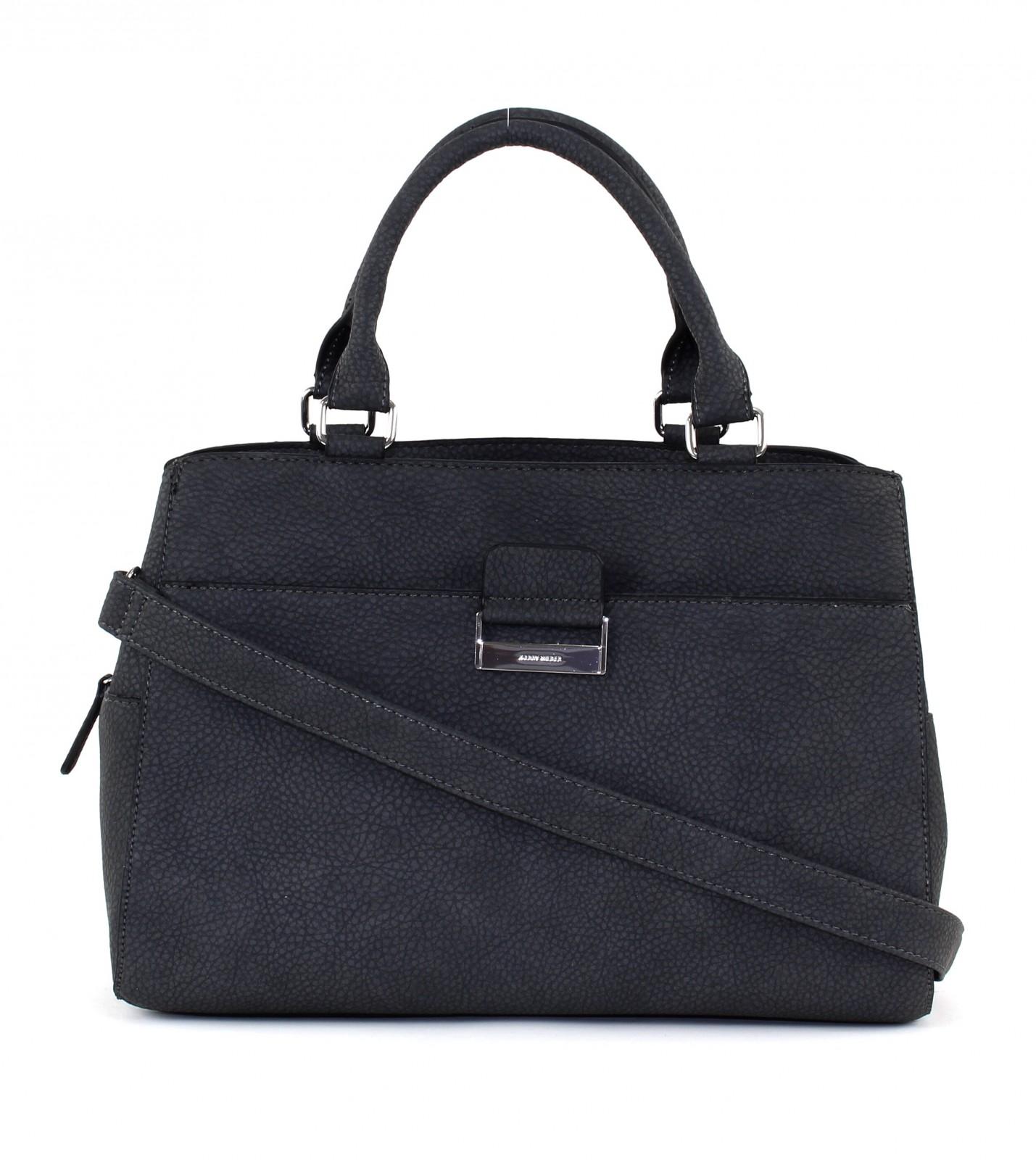 gerry weber handbag talk different ii l dark grey. Black Bedroom Furniture Sets. Home Design Ideas