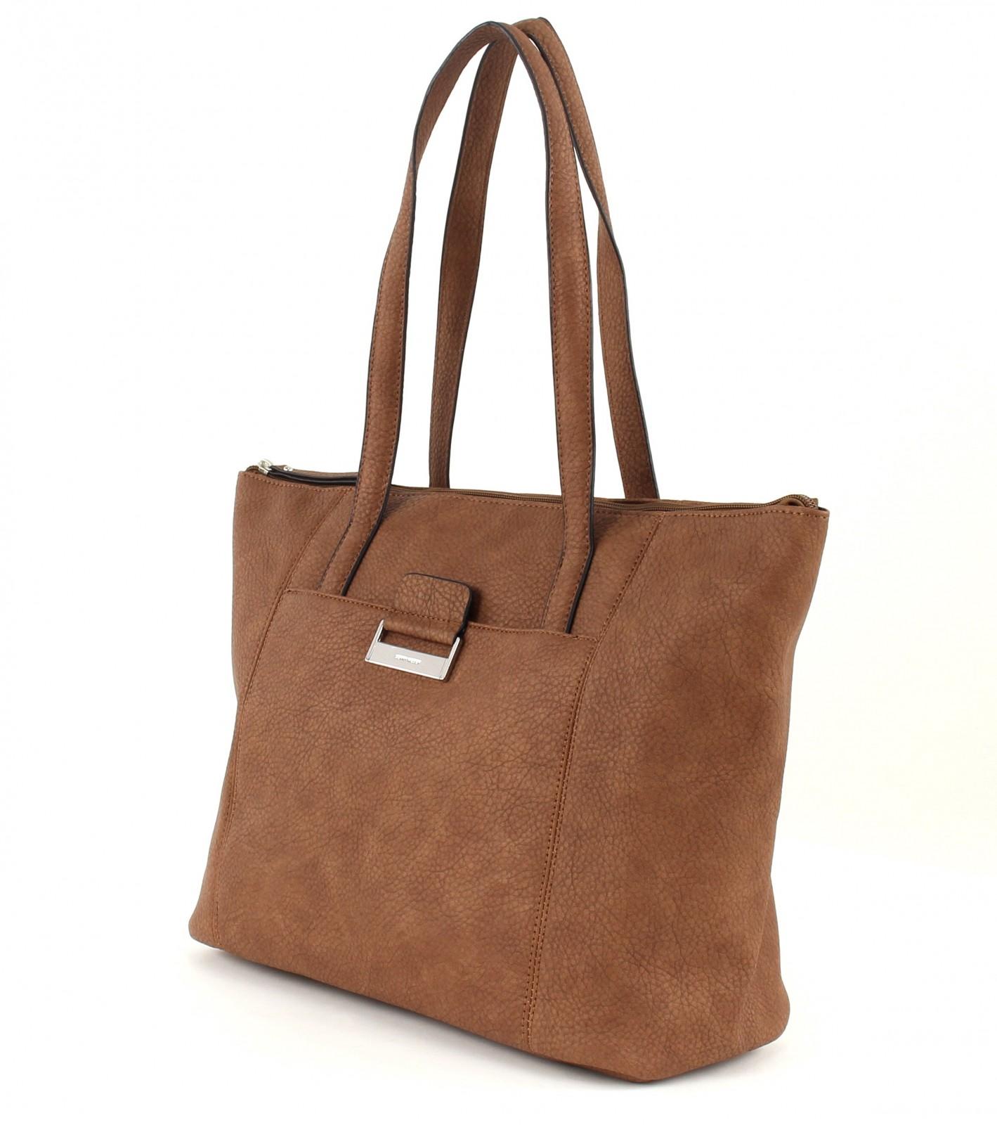 gerry weber shoulder bag talk different ii shopper cognac. Black Bedroom Furniture Sets. Home Design Ideas