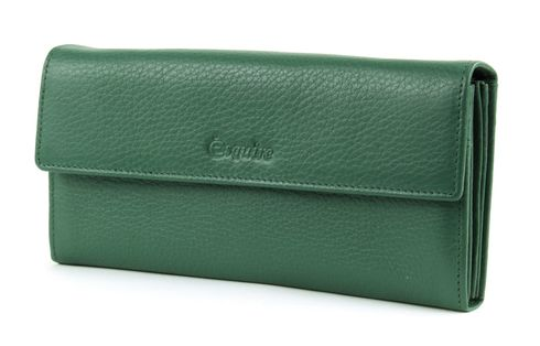 Esquire Primavera Ladies Purse L Hunter Green