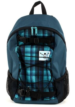 CHIEMSEE Base Backpack Checky Chan Blue