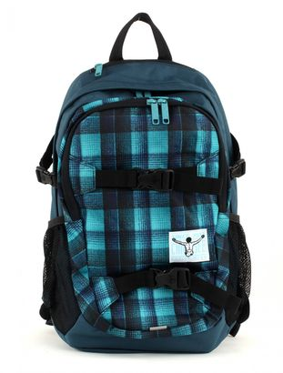 CHIEMSEE School Backpack Checky Chan Blue