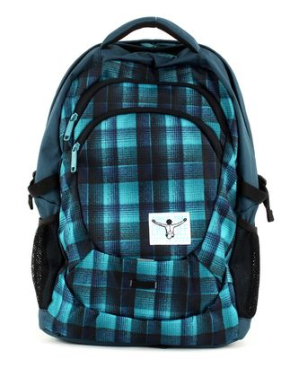 CHIEMSEE Harvard Backpack Checky Chan Blue