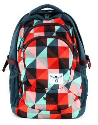 CHIEMSEE Harvard Backpack Magic Triangle Red