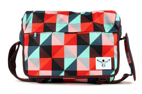 CHIEMSEE Shoulderbag Large Magic Triangle Red