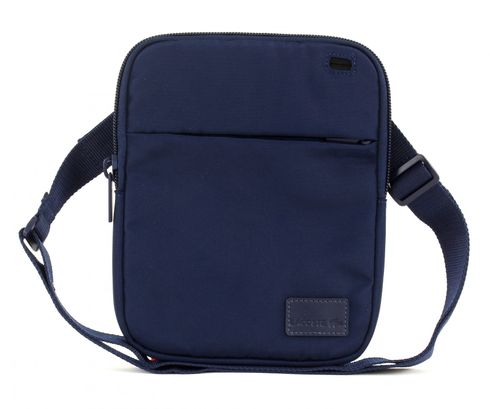 LACOSTE Smart Concept Large Flat Crossover Bag Peacoat