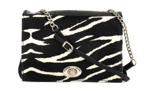 CATERINA LUCCHI Crosta Small Satchelbag Black