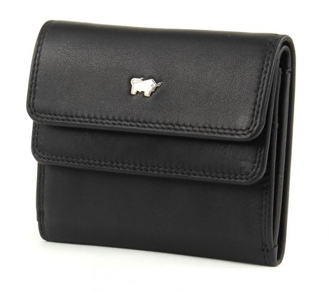 Braun Büffel Golf Mini Wallet Black