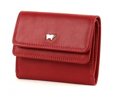 Braun Büffel Golf Mini Wallet Red