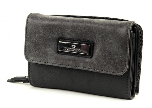 TOM TAILOR Elin S Wallet Grey
