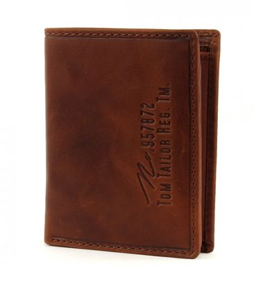 TOM TAILOR Gary Wallet High Cognac