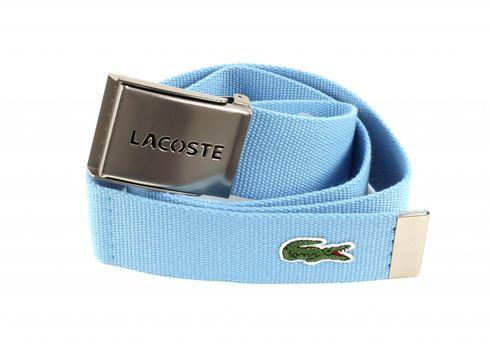 LACOSTE Gift Box Woven Strap W85  Naval Blue