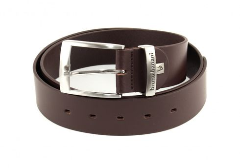 bruno banani Open Edged Belt 4.0 W90 Dark Brown