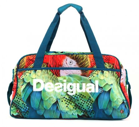 Desigual Bols Big Gym Bag W Azul Agata