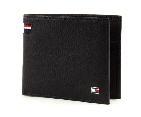 TOMMY HILFIGER Corporate Mini CC Wallet Coffee Bean