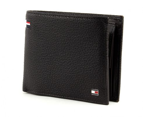 TOMMY HILFIGER Corporate CC Flap And Coin Pocket Coffee Bean
