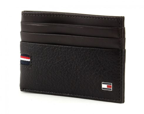 TOMMY HILFIGER Corporate CC Holder Coffee Bean