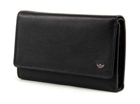 Golden Head Polo Ladies Purse Black