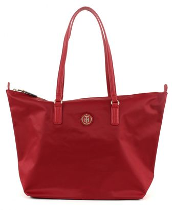 TOMMY HILFIGER Poppy Tote Scooter Red