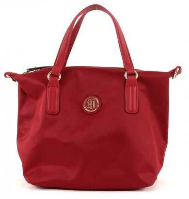 TOMMY HILFIGER Poppy Small Tote Scooter Red